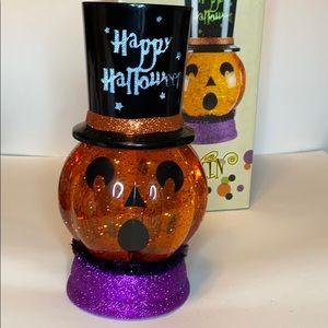 Halloween light up water globe